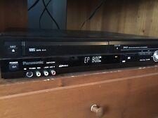 Panasonic DMR-EZ48V DVD Recorder Mint. VHS & DVD Recorder Tuner New Condition