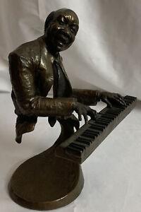 """MARK HOPKINS BRONZE SCULPTURE """"Jazz Piano"""" 280/750"""
