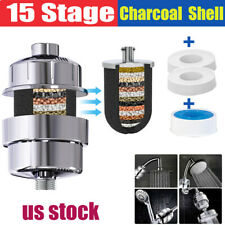 Shower Head Filter Water Purification Filters 15 Stage Kdf-55 Softener Purifier