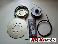 "3/4"" Clutch, Chain # 35 60T Sprocket:,Brake,Drum, Band,Cable, Go Kart, Mini Bike"