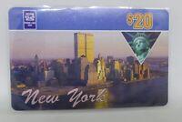 Phone Line USA $20 Prepaid Phone Card New York - World Trade Center Towers 1990s