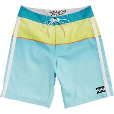 "Billabong Men All Day Faded Green 21"" Boardshorts Swimwear Sz 32"