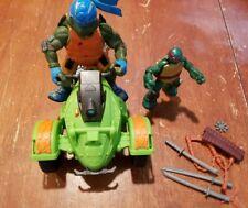 Teenage Mutant Ninja Turtles Hover Ninja ATV Vehicle with Figure Lot TMNT