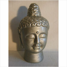 LATEX MOULD MOULDS MOLD.      7 INCH BUDDHA HEAD