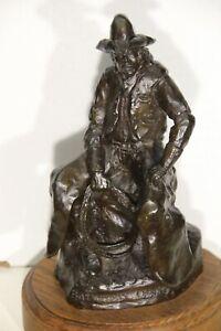 Bob Scriver Signed Bronze Sculpture 1984 #79 / 250 BATWING CHAPS