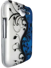 Blue Vine Hard Faceplate Snap On Cover Phone Case for Pantech Renue P6