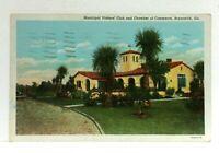 Brunswick Georgia Municipal Visitors Club & Chamber Of Commerce Postcard