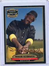1996 CANADIAN CLUB #3 WILLIE STARGELL AUTOGRAPH AUTO, PITTSBURGH PIRATES