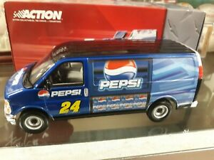 1 25 Jeff Gordon Pepsi Talladega route van 2003