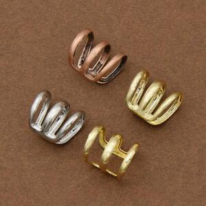 5pcs Dreadlock Beads Adjustable Hair Braid Rings Cuff Clips Tube Braiding Decor