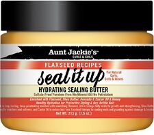 Aunt Jackie's Flaxseed Recipes Seal It Up Hydrating Sealing Butter 7.5 oz