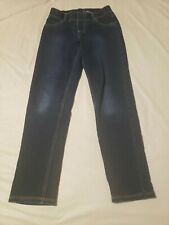 Boys Size 7 Dark Blue Pull On Jumping Beans Skinny Pants