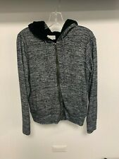 Velvet Brand By Graham & Spencer Zip Up Hoodie - Size Small Color:Black,White