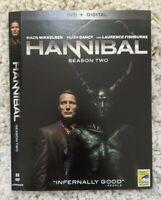 SDCC Comic Con 2014 Hannibal Season 2 DVD Slip Case and Exclusive Soundtrack