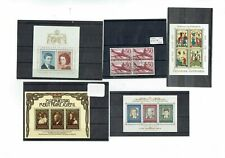 F795 Liechtenstein collection on 5cards +1stockcard