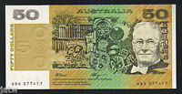 Australia R-512. (1990) 50 Dollars - Fraser/Higgins.. UNC