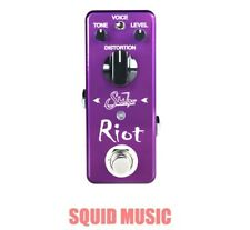 Suhr Riot Mini Distortion Guitar Pedal True Bypass Voice Switch 9Vdc (only)