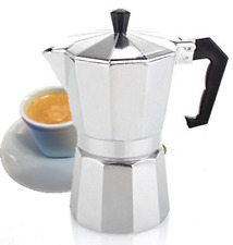 Stove Top Espresso Cuban Coffee Maker Cappuccino Latte 3 Cup Cafetera Cuban