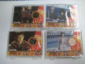 Charlie and the Chocolate Factory 18 Items Authentic Costume Card