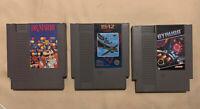 Nintendo NES LOT 3 Games 1942 — Dr. Mario — Gyruss
