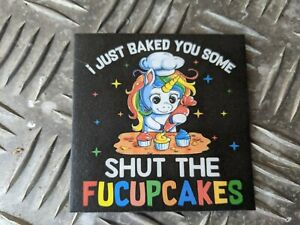 MORALE PATCH / BADGE MADE USING POLYFLEX 2D POLYMER - UNICORN BAKING
