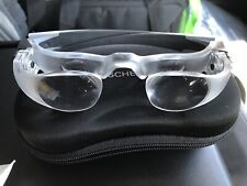 CASED ESCHENBACH MAX TV MAGNIFIYING GLASSES / SPECS. WITH DUAL FOCUS WHEELS