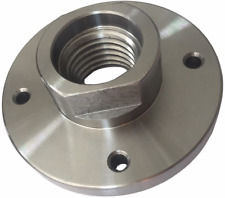 Steel Face Plate 1 8 Threaded For Wood Lathe Turning 3 Diameter 4 Holes Plate