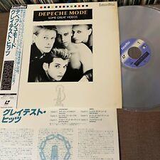 DEPECHE MODE Some Great Videos JAPAN Laser Disc LD SM058-3062 w/OBI+INSERT 1985