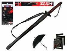 "BLEACH Official License  38""Japanese Anime ICHIGO KUROSAKI Sword Handle UMBRELLA"