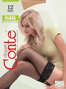 Conte Elegant Ultrathin Stockings For Women - Class 12 Den (8С-94СП)