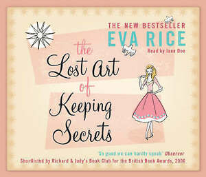 The Lost Art of Keeping Secrets  by Eva Rice - Read by Rosamund Pike - NEW
