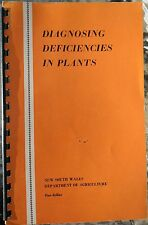 DIAGNOSING DEFICIENCIES IN PLANTS..NEW SOUTH WALES DEPT OF AGRICULTURE....64 PGE