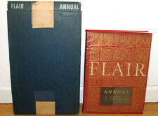Fleur Cowles Flair Annual 1953 Shipping Box HC DJ Salvador Dali Walker Evans