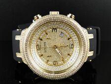 NEW MENS JOE RODEO/JOJO/KC GOLD MASTER 677 DIAMOND WATCH JJM69 6.50CT