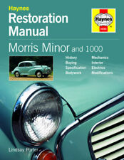 NEW HAYNES RESTORTION REPAIR MANUAL MORRIS MINORS 1000
