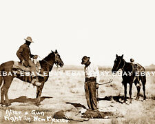 NEW MEXICO NM COWBOY AFTER GUN FIGHT OLD WEST OUTLAW PHOTO