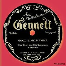 Good Time Mamma by King Mutt & His Tennessee Thumpers (CD, Sep-2009, Frog)