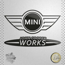 STICKER COCHE MINI LOGO JOHN COOPER WORKS LINE VINILO ADHESIVO PEGATINA DECAL