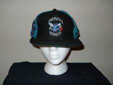 Vtg Charlotte Hornets Snapback Hat/Cap - Script