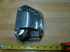 CHROME HEADLIGHT VISOR COVER WITH OUT CUTAWAY FOR XL SPORTSTER DYNA FX FXR
