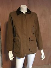 Womens Eddie Bauer Outdoors Bainbridge Field Barn Coat Jacket Hazelnut Sz PL