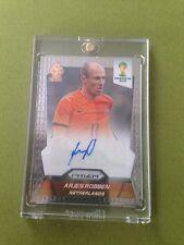 2014 Panini Prizm FIFA World Cup Brazil  Arjen Robben -Auto Autograph Signature