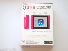 Eclipse Fit Clip Plus 8GB MP3/Video Player/Pictures/FM Radio/SD Slot