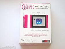 Eclipse Fit Clip Plus 8GB MP3/Video Player/Pictures/FM Radio/SD Slot