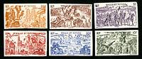 Wallis et Futuna Stamps # C2-7 VF Imperf. OG NH