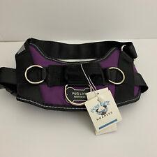 New listing Pug Life Dog Harness No Pull PugLife Black 20-40 lbs M / Medium Purple