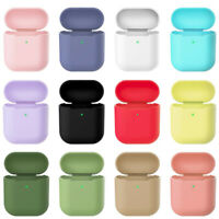 AirPods Silicone Case Cover Protective Skin for Apple Airpods Support Charging