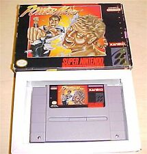 Power Moves Fighting Super Nintendo SNES original game with box no instructions