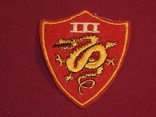 Vintage Marine Corps Felt patch from the 3rd Amphibious Corps