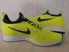 promo code db646 be515 New Nike Air Zoom Mariah Flyknit Racer Running Shoes Volt 918264-700 Mens  Sz 14